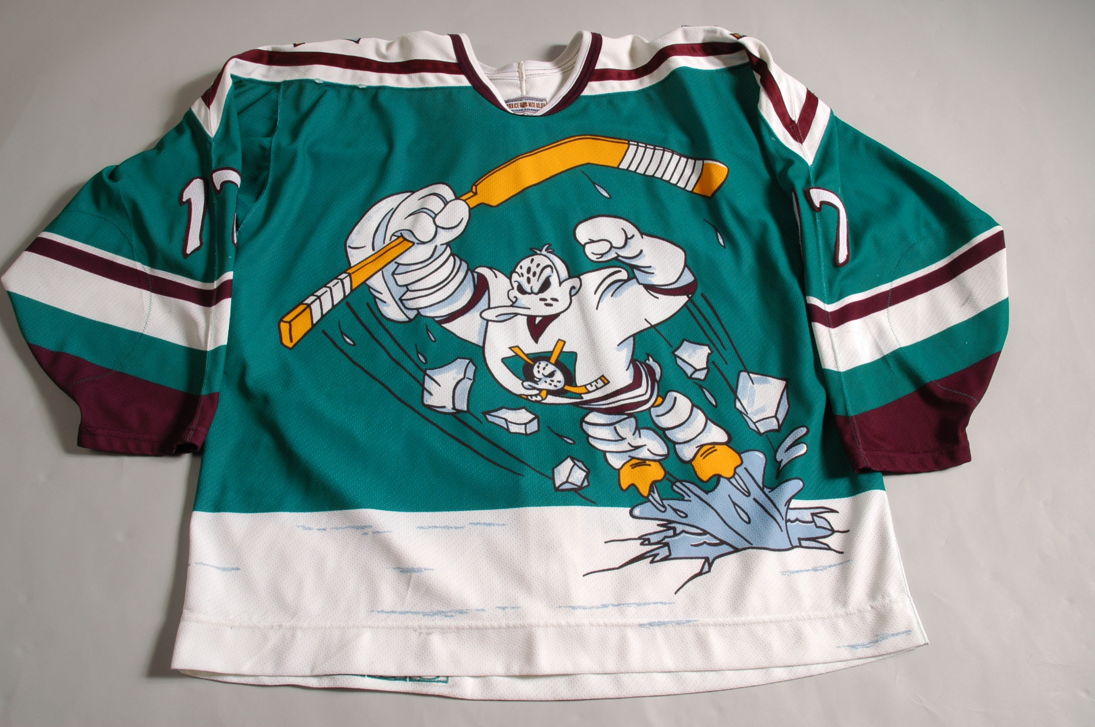 anaheim ducks original jersey